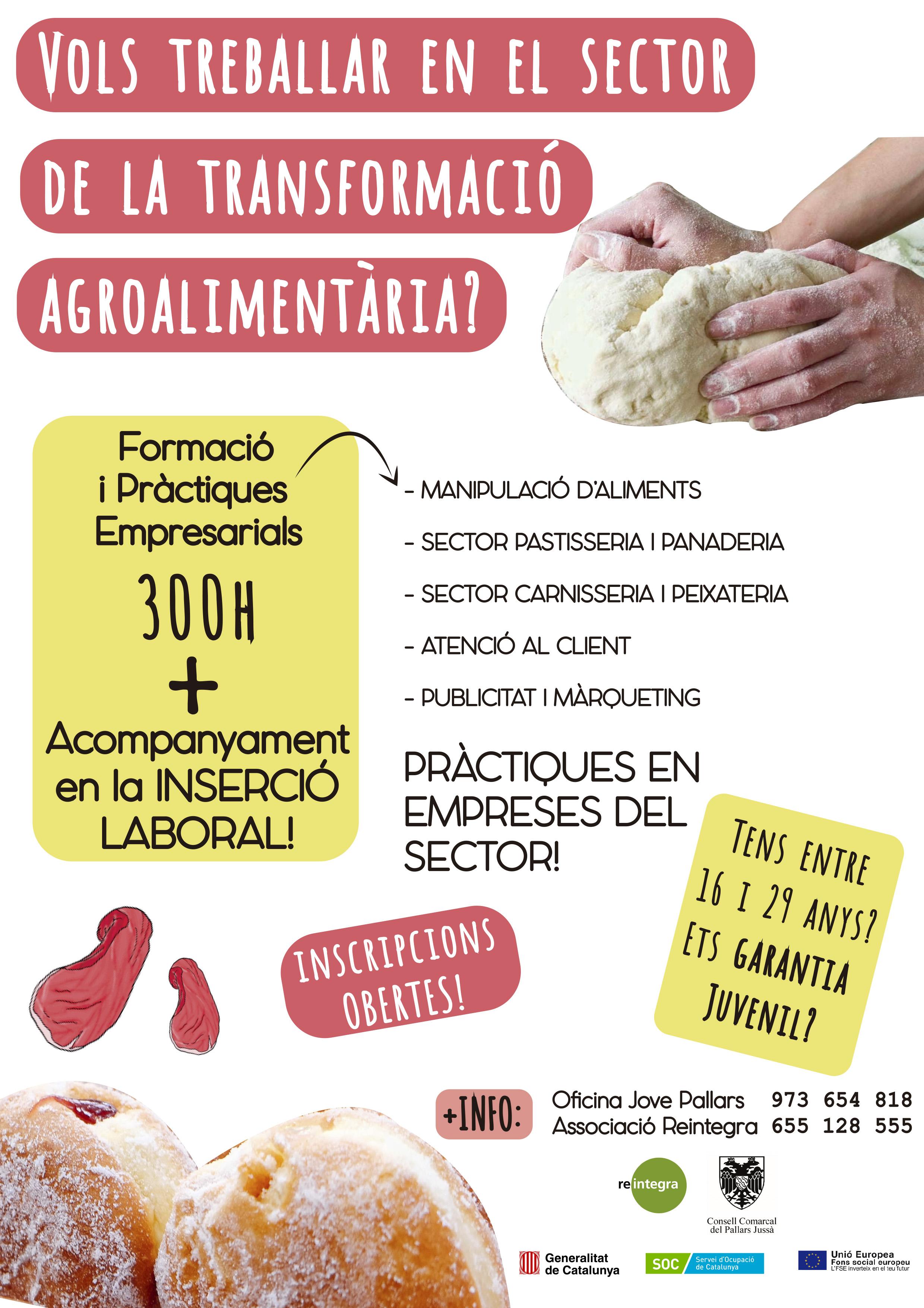 CARTELL TRANSFORMACIÓ ALIMENTARIA